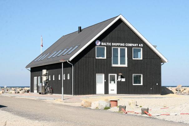 Baltic Shippings hovedkontor på havnen