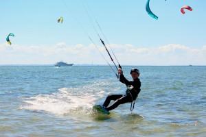 Kitesurfing Lynæs