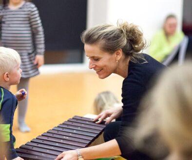 Katrine, musiklærer på musikskolen