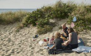 Picnic på Liseleje strand