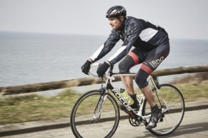 Lars cykler fra Halsnæs til København 3 gange om ugen